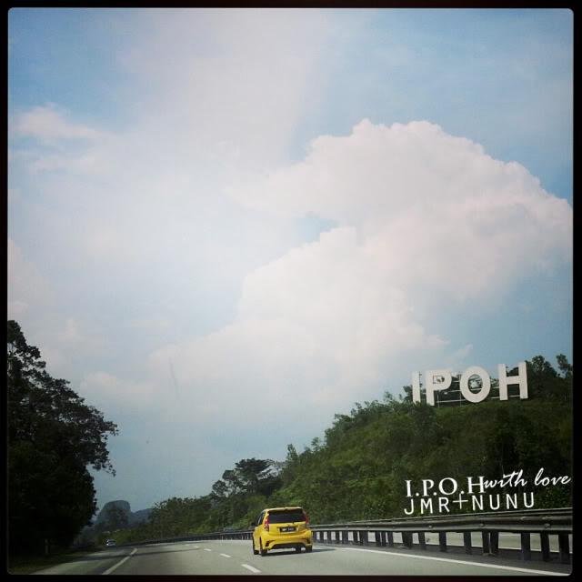 Dari Kota Damansara ke Heritage Hotel, Ipoh..