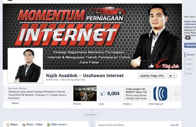 Testimoni: Momentum Perniagaan Internet