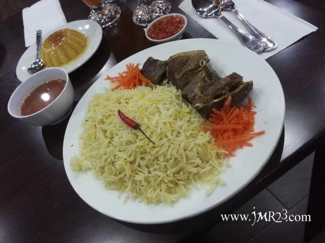 Lamb Mandy @ Marakesh Restaurant, Harbour Place
