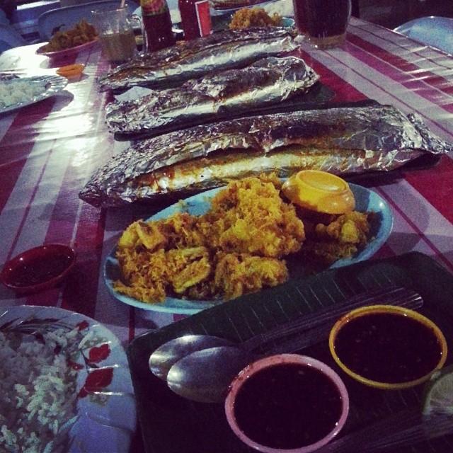 Ikan bakar sedap dan berbaloi di Besut