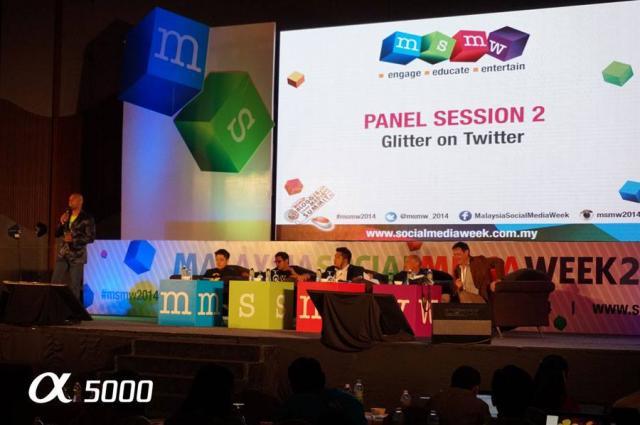 Malaysia Social Media Week 2014. Ilmu Social Media itu luas tanpa batasan.