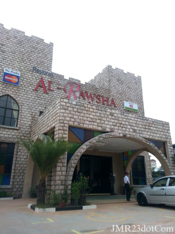 review al-rawsha shah alam