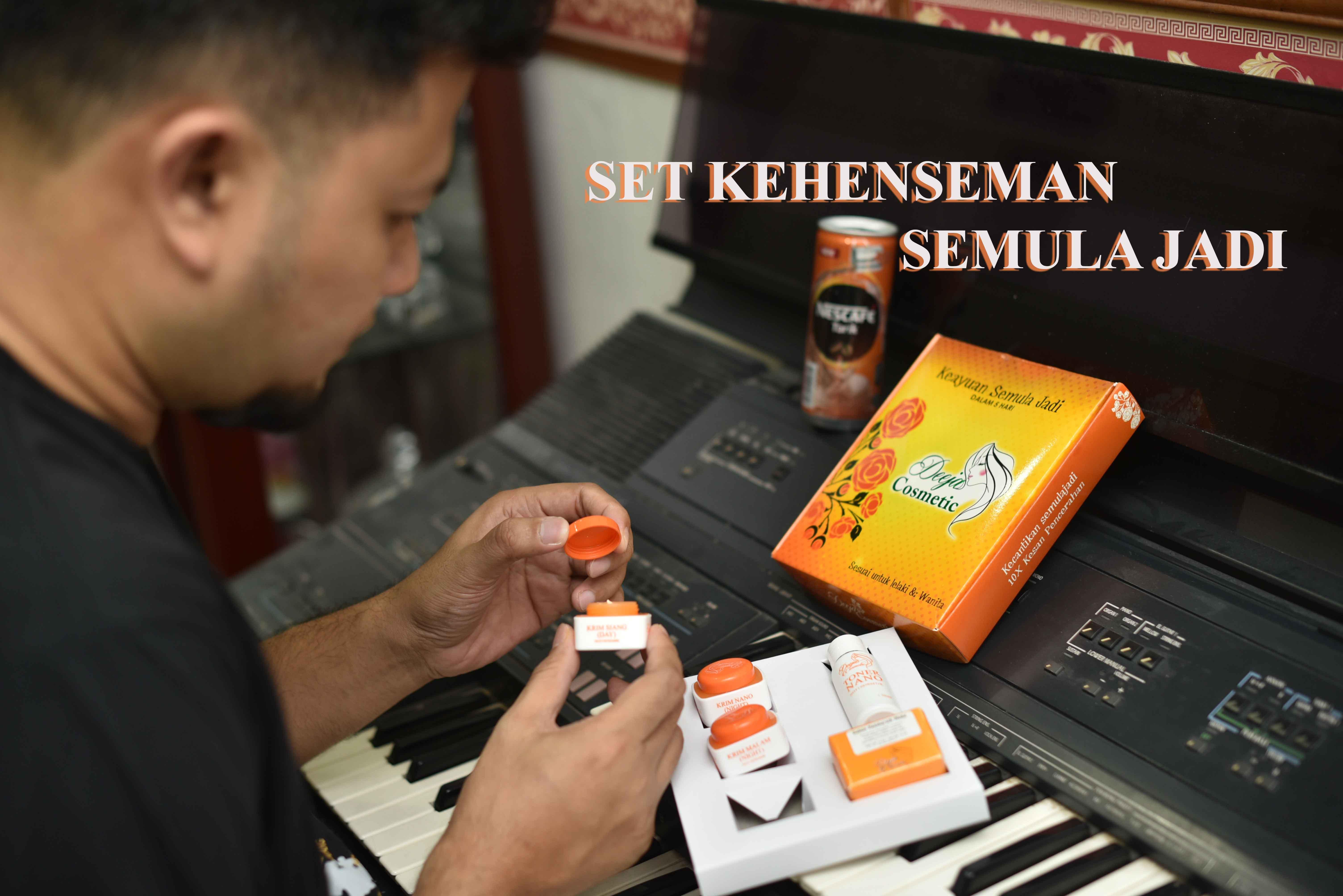 Set Deeja Cosmetic – Set Penjagaan Wajah Berkualiti & Senang Bawa Travel.