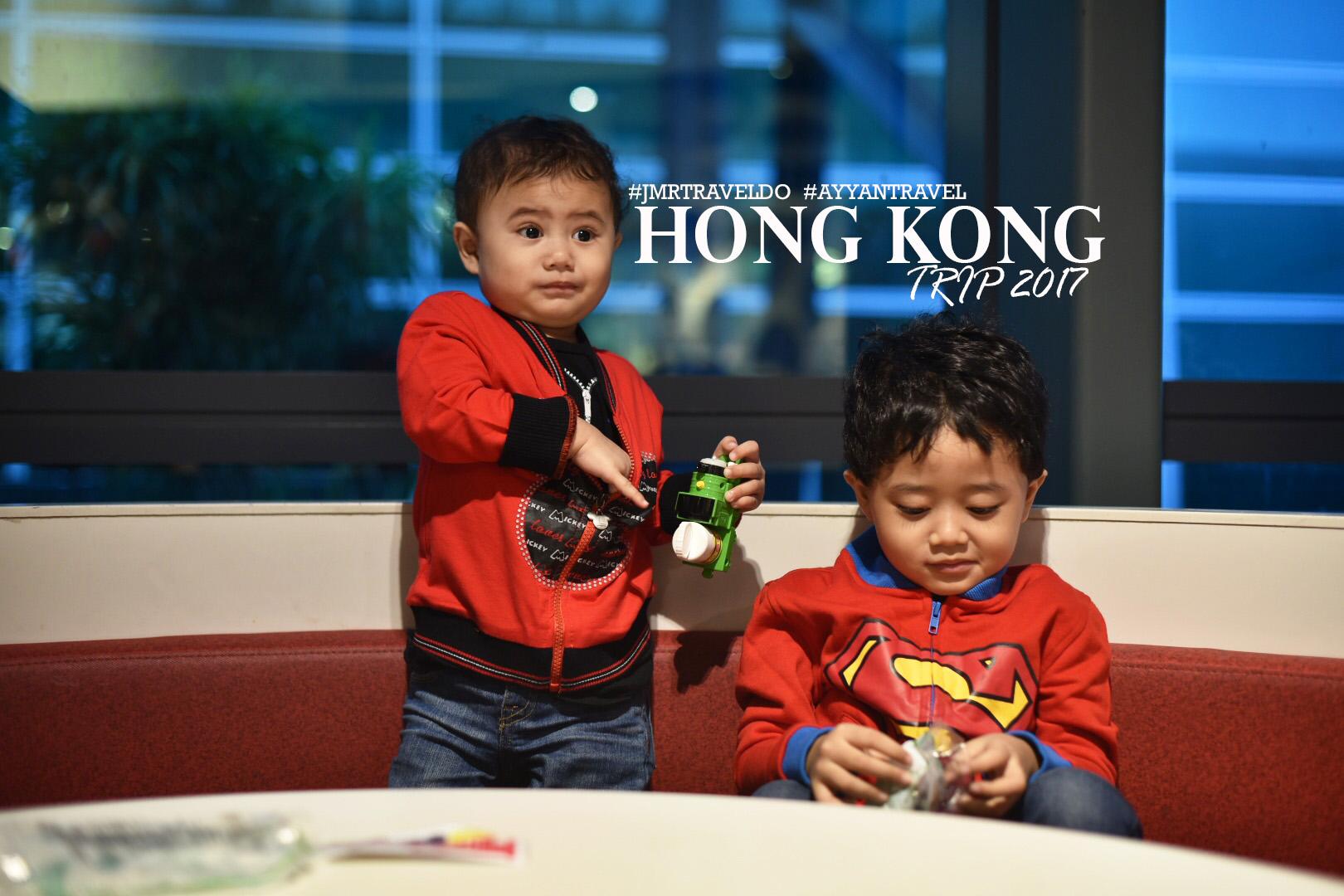 Day 1: Travel ke Hong Kong Dengan Dayyan & Danish.
