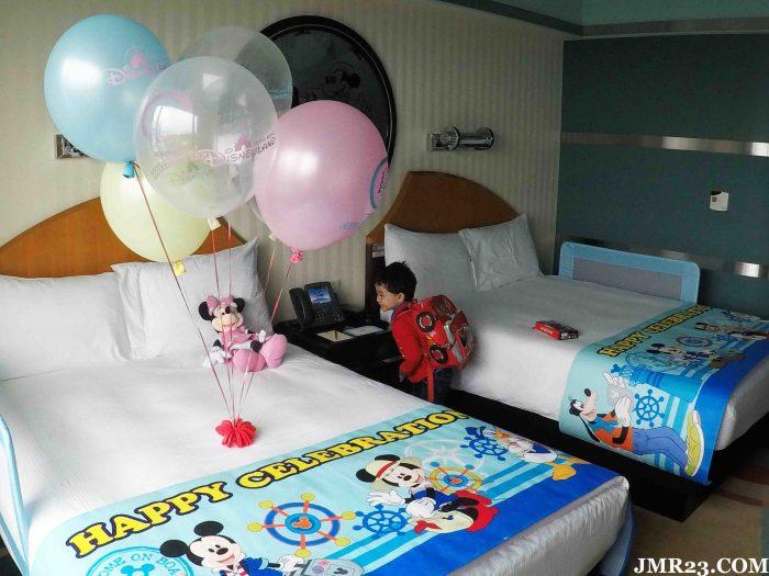 BILIK DISNEY HOTEL HONG KONG