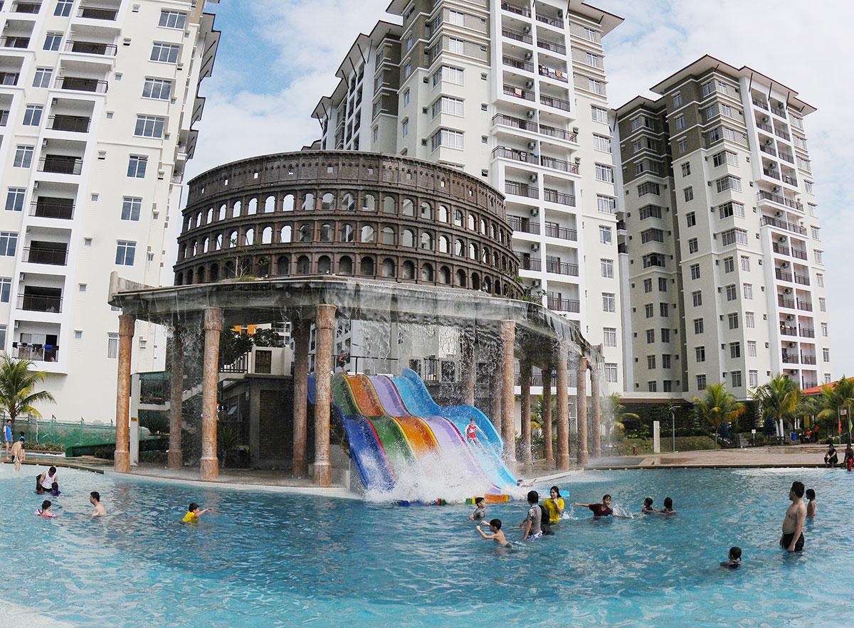 Percutian Sempurna di Bayou Lagoon Park Resort