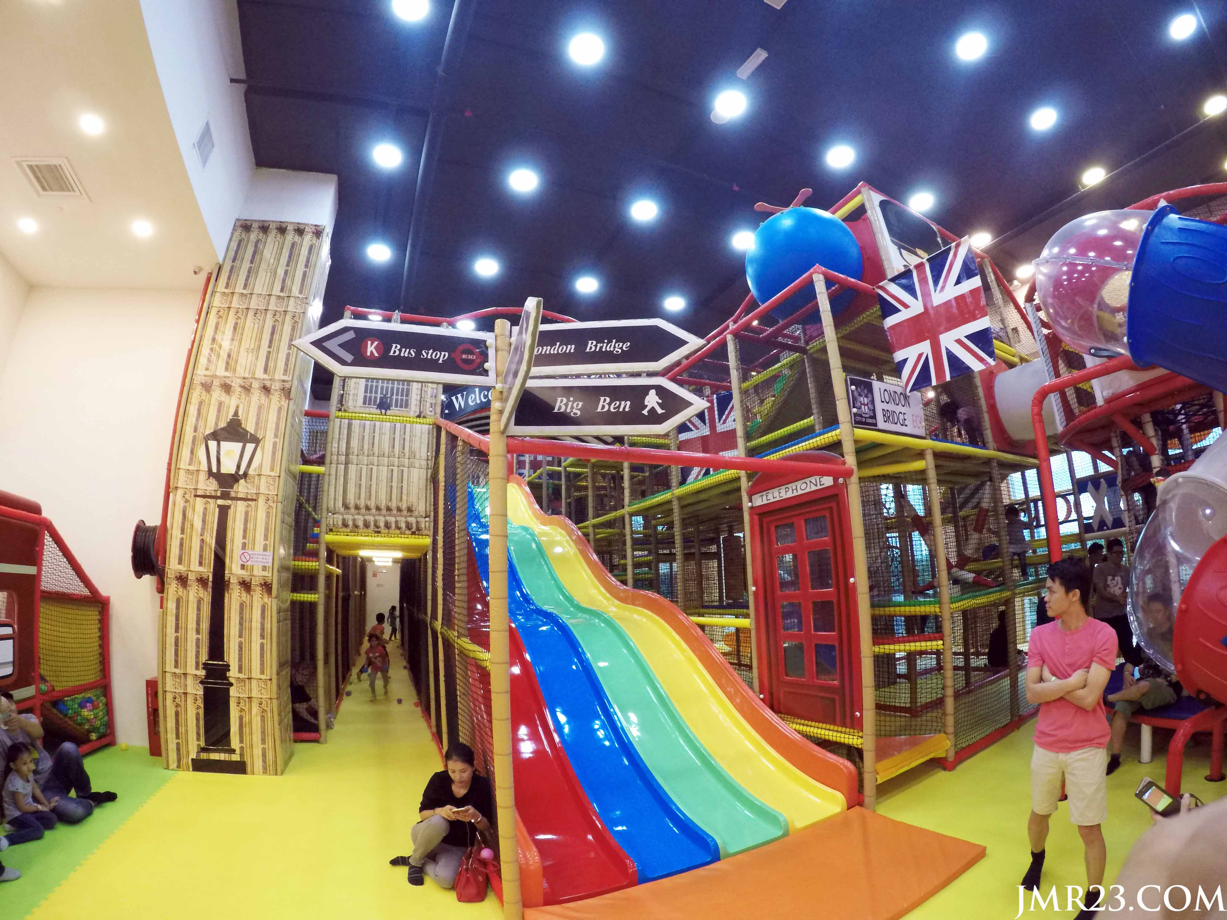 The Parenthood Playland di Sunway Pyramid.