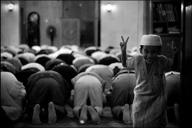 Pengalaman Bawa Anak Solat di Masjid.