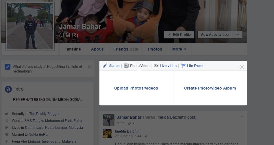 Cara Upload Gambar Raya HD di Facebook