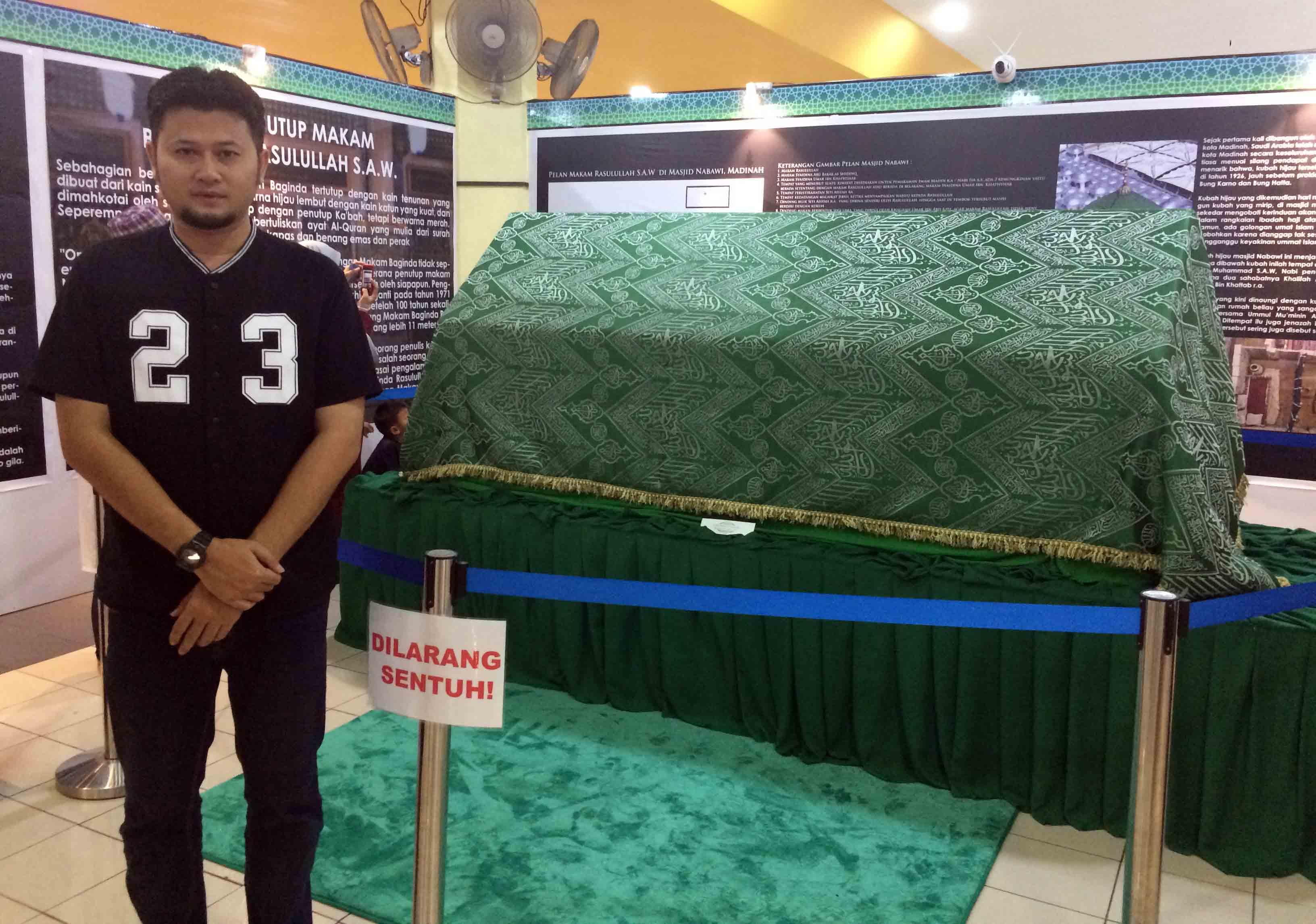 Pameran Artifak Rasulullah SAW dan Para Sahabat di Masjid Shah Alam
