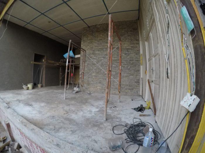 Projek Runtuh dan Bina Semula rumah ibu