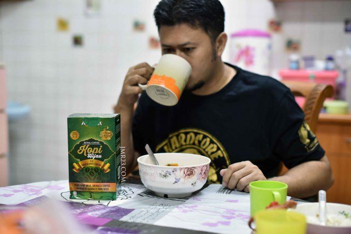 cara minum kopi alana