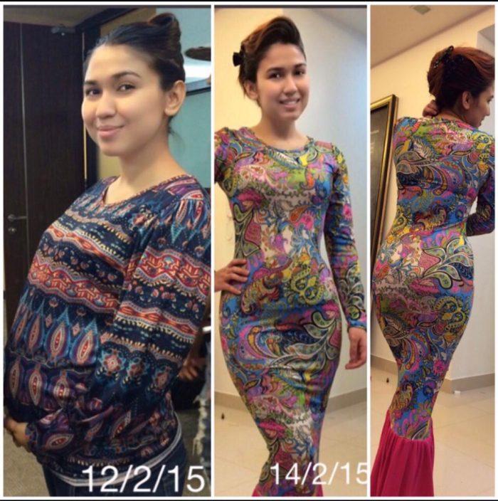 petua kurus selepas mengandung