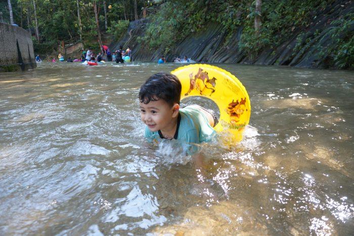 anak sungai nyaman