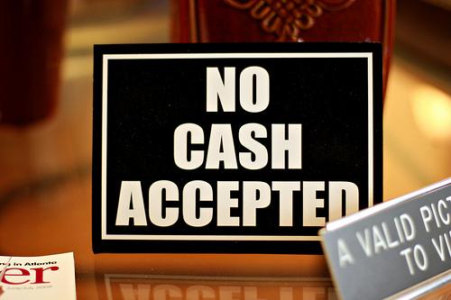 jangan bayar guna cash
