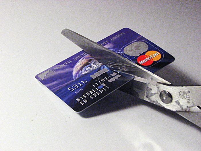 cara potong kad kredit