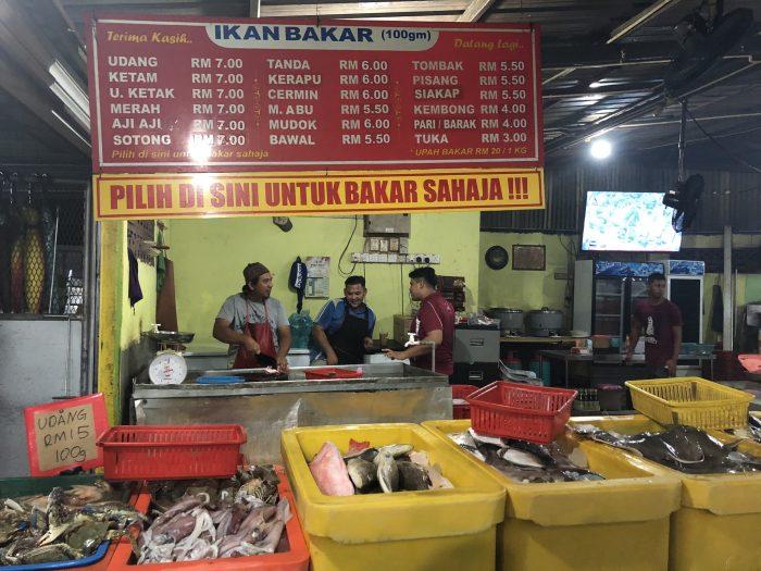 Harga Ikan Bakar Zul