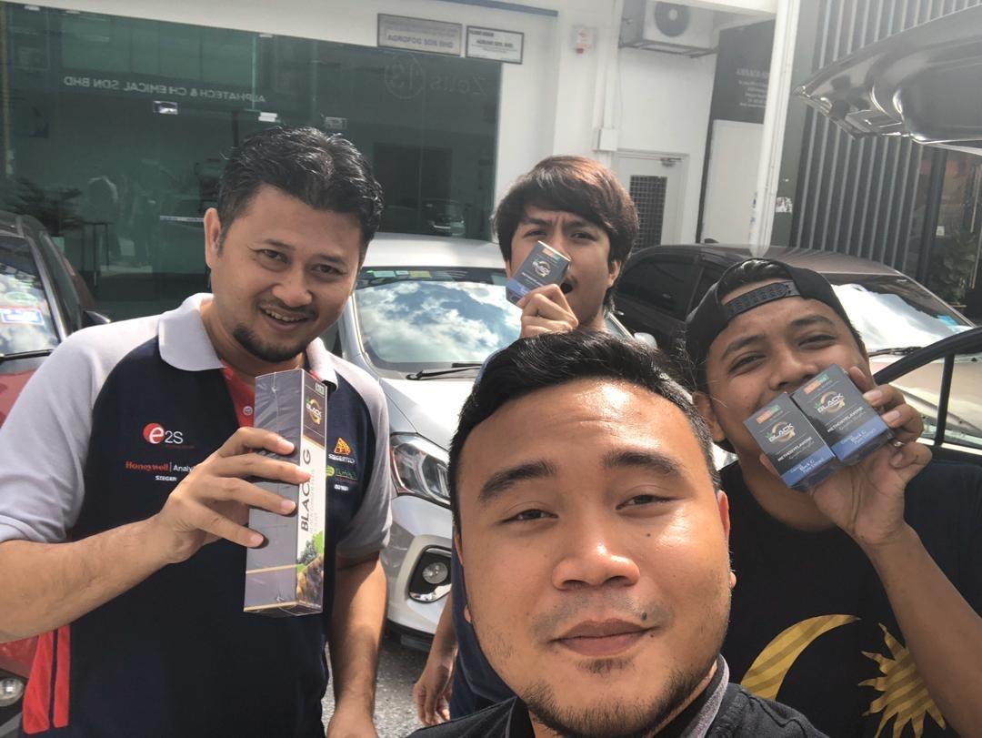 ejen kunyit hitam Malaysia