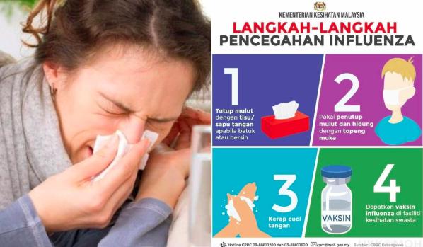 Cara Terbaik Cegah Influenza
