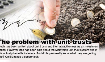 masalah unit trust