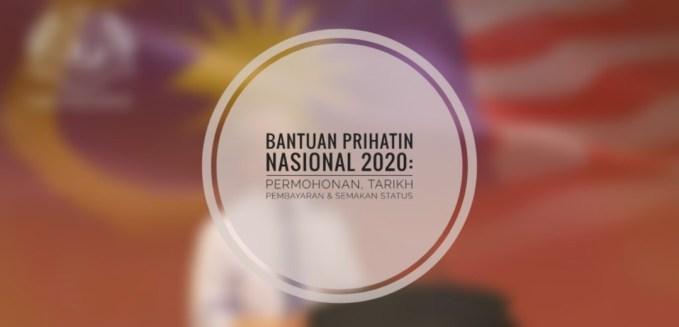 Daftar dan Semak Bantuan Prihatin Nasional (BPN) Mulai 1 April 2020.