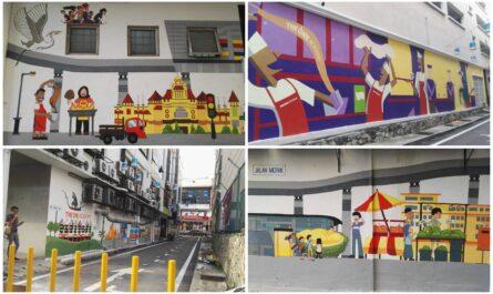 mural jalan di Selangor