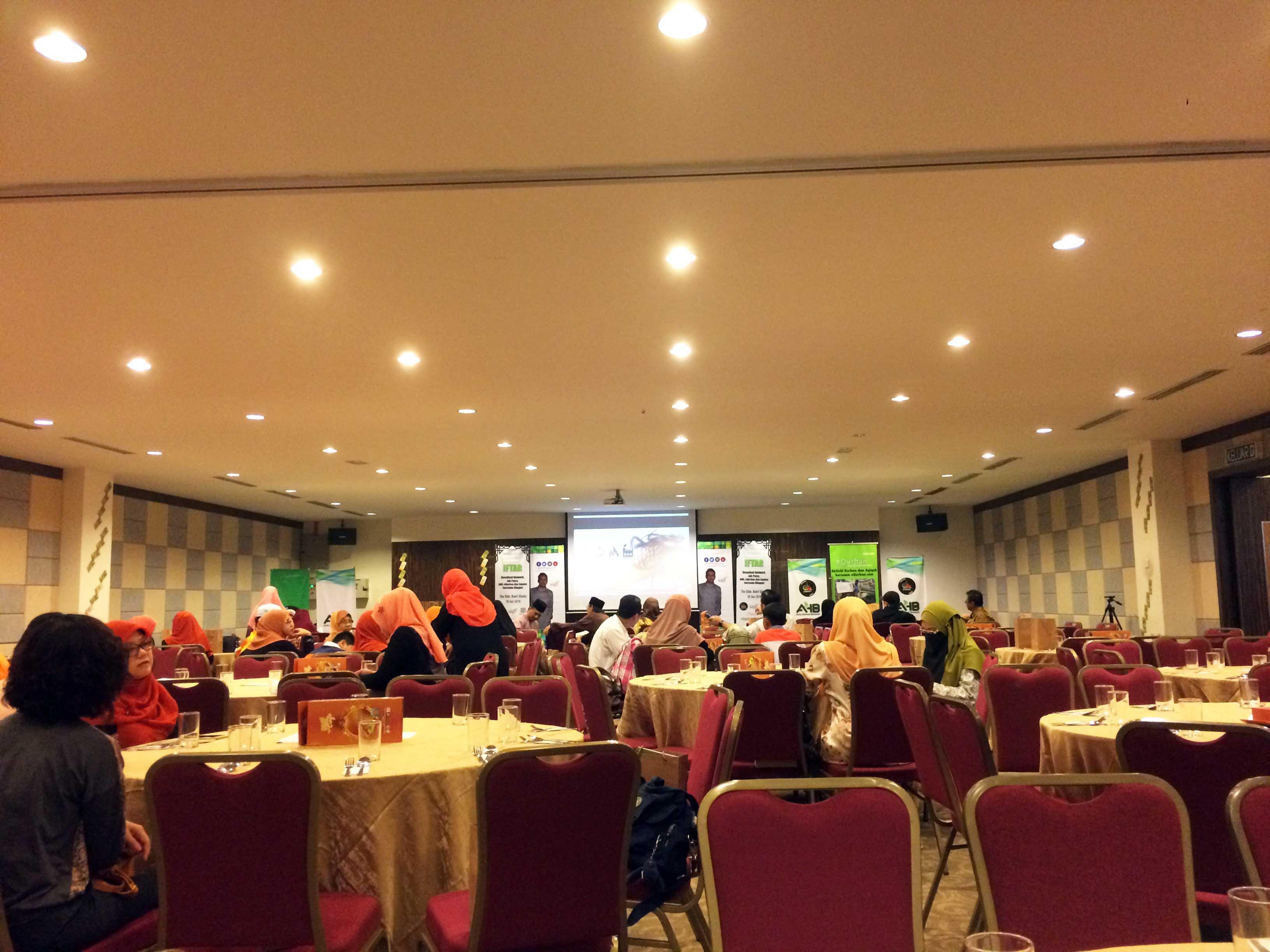 Majlis Iftar Denaihati Network, Adiputra, AHB, Equrban & Jopana bersama Blogger @ The Club Bukit Utama