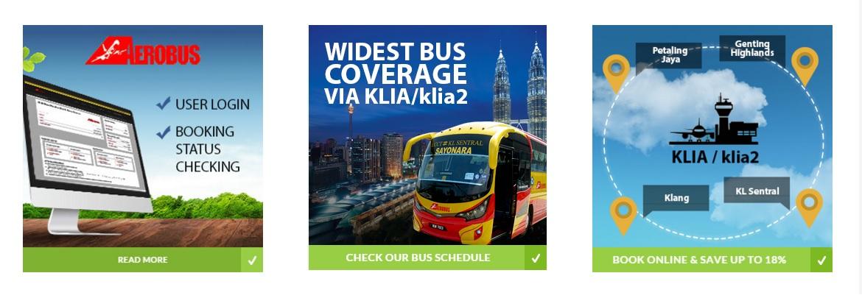 Aerobus dari Hotel Premier ke KLIA2