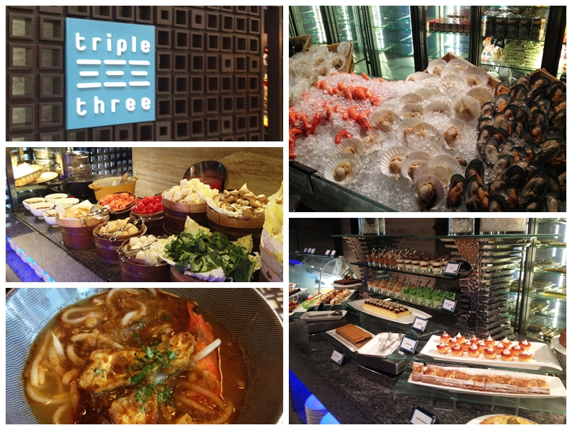 Triple Three Restaurant, Mandarin Orchard Hotel