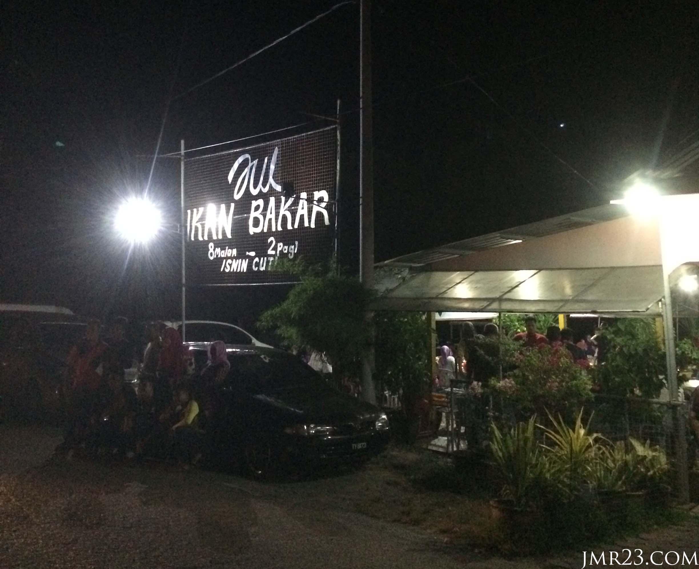 Restoran Zul Ikan Bakar Kuala Besut. Kedai ikan bakar sedap di Besut.
